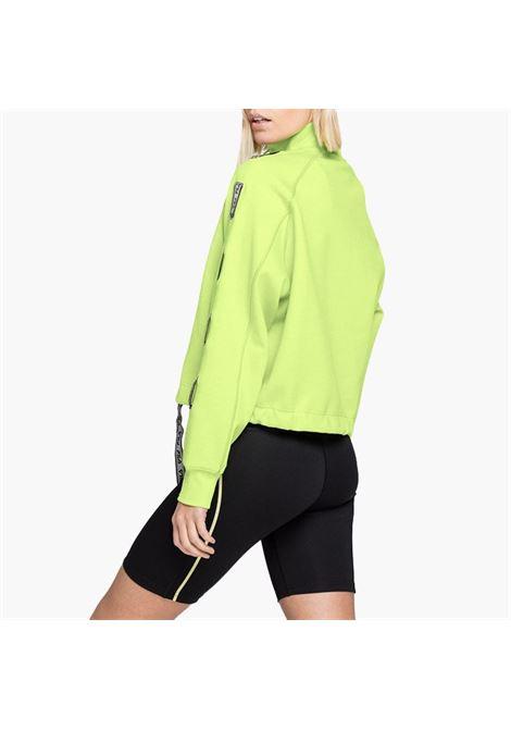 Felpa mezza zip FILA | Maglie | 687658B16 SHARP GREEN
