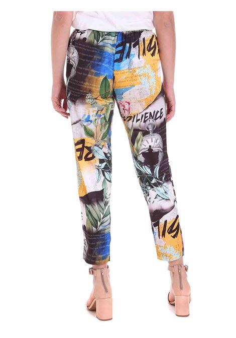 Pantalone fantasia FRACOMINA | Pantalone | FR20SM024C96 ABSTRACTPRINT