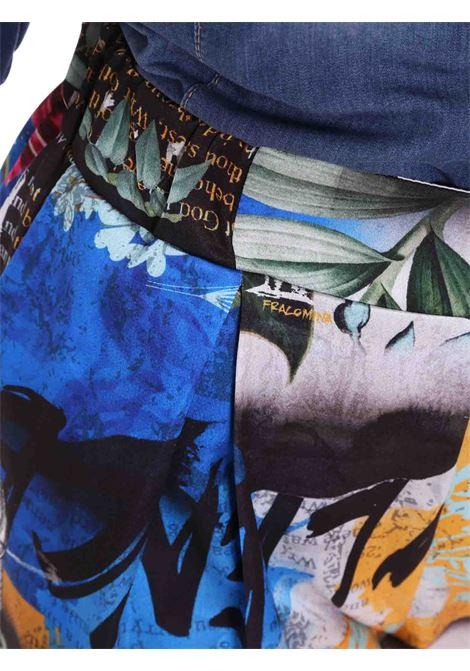 Shorts fantasia FRACOMINA | Pantalone | FR20SM026C96 ABSTRACTPRINT