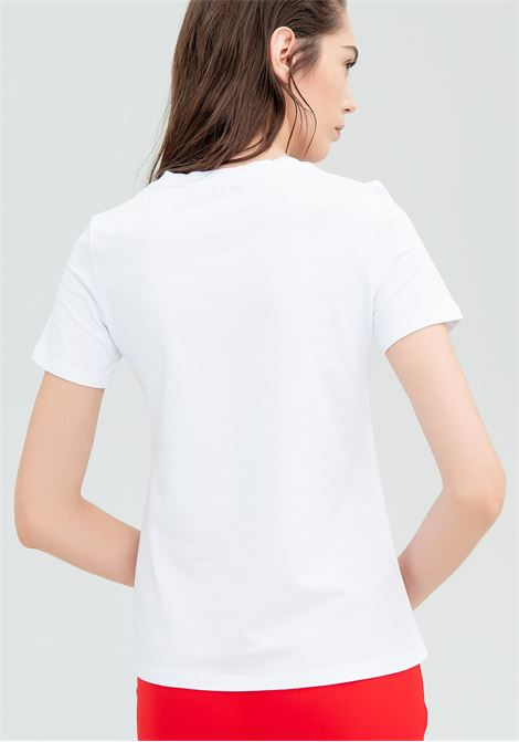 T-shirt con stampa Lover FRACOMINA | T-shirt | FR20SM328278 WHITE