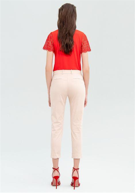 Pantalone a sigaretta FRACOMINA | Pantalone | FR20SMC180E06 NUDE