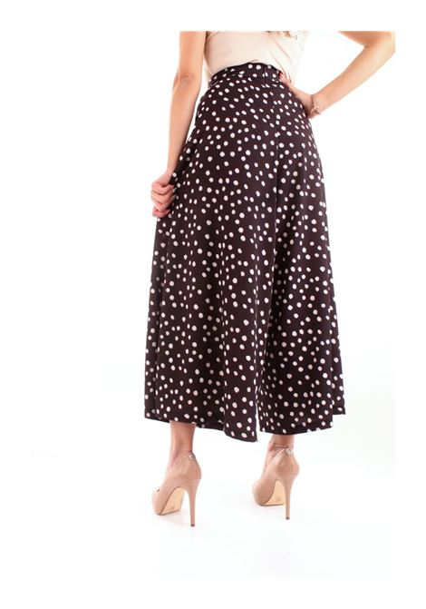 Pantalone fantasia FRACOMINA | Pantalone | FR20SP021053 BLACK