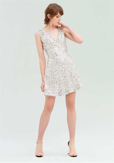 Vestito rivestito di paillettes FRACOMINA | Abiti | FR20SP430210 MULTICOLOR