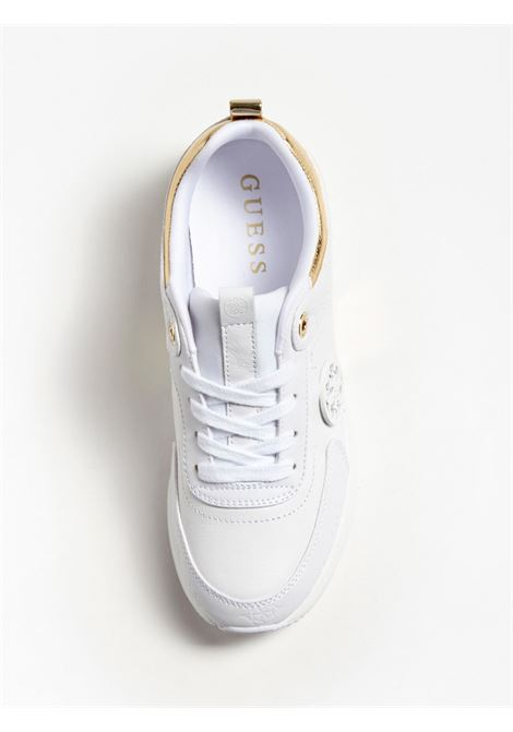 RUNNER MARLYN LOGO IMPRESSO GUESS FOOTWEAR | Scarpe | FL5MYN FAL12WHITE
