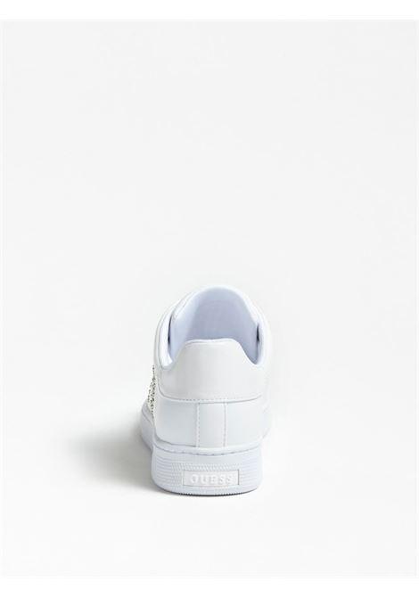 SNEAKER RIDERR BORCHIE LOGO GUESS FOOTWEAR | Scarpe | FL5RID ELE12WHITE