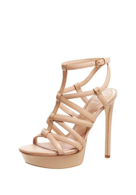 GUESS FOOTWEAR      FL6EEI LEA03BEIGE