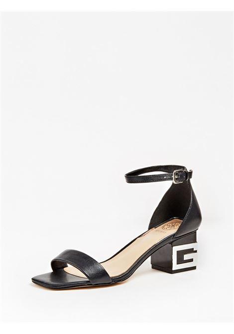 SANDALO MAEVA VERA PELLE GUESS FOOTWEAR | Scarpe | FL6EVA LEA03BLACK