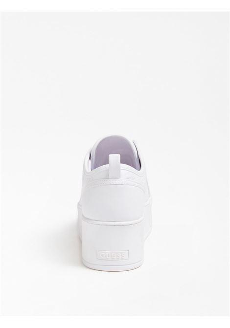 SNEAKER NEEKA INSERTI LAMINATI GUESS FOOTWEAR | Scarpe | FL6NEA FAL12WHITE
