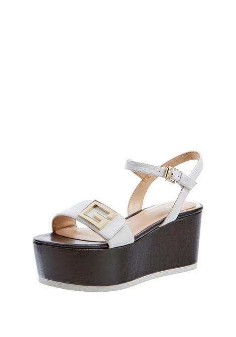 GUESS FOOTWEAR |  | FL6TK2 LEA04WHITE