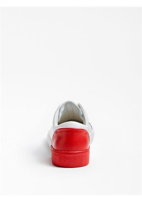 SNEAKER LUISS VERA PELLE GUESS FOOTWEAR | Scarpe | FM5LUI LEA12WHIRE