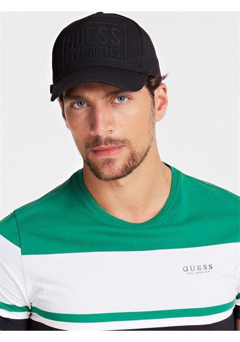 Cappello Logo Frontale GUESS | Cappello | M01Z45 WBN60JBLK