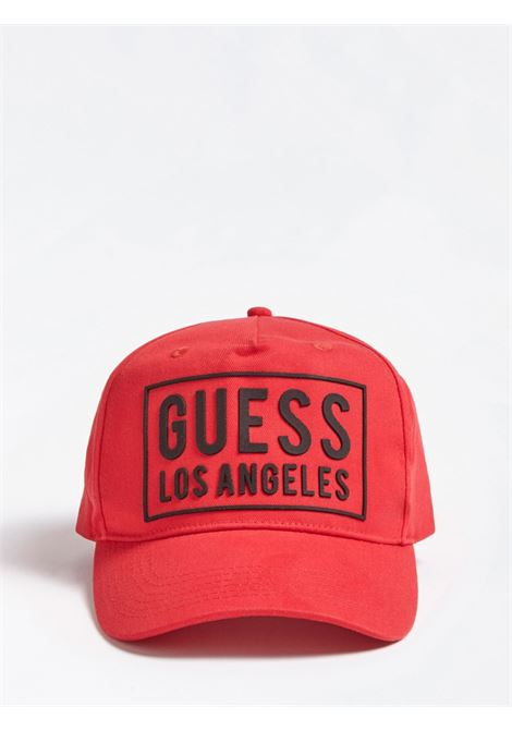 Cappello Logo Frontale GUESS | Cappello | M01Z45 WBN60TLRD