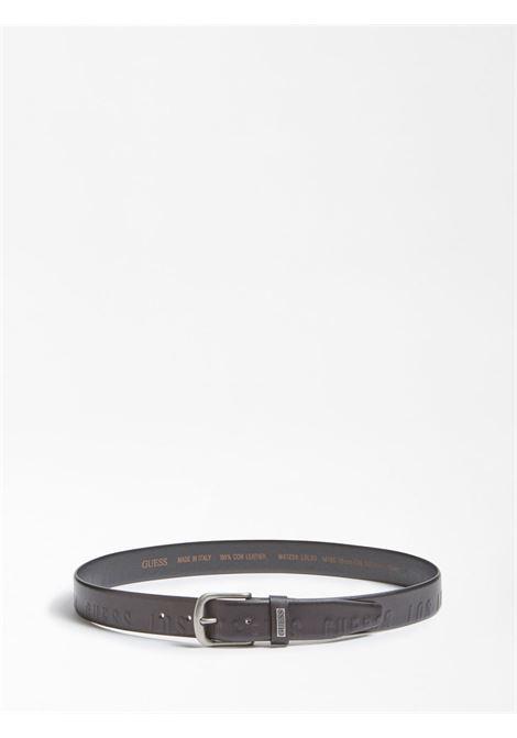 Cintura Applicazione Metallica GUESS | Cinture | M01Z59 L0L50JBLK