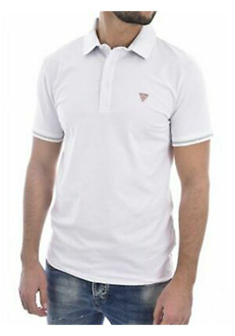Polo Cotone Stretch GUESS | Polo | M02P45 J1300TWHT