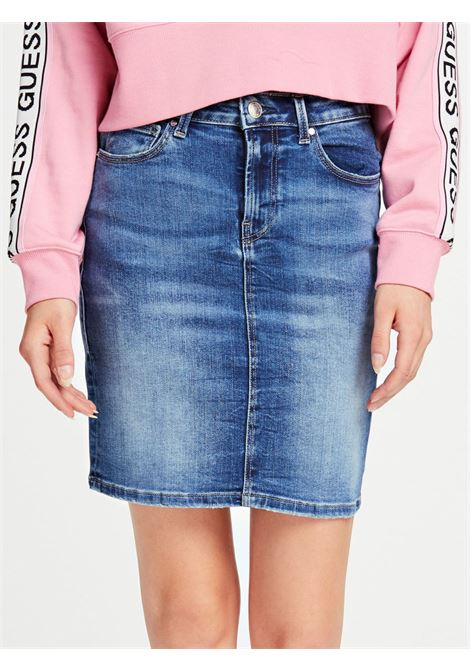 Gonna Jeans GUESS | Gonne | W01D80 D38R8BBIR
