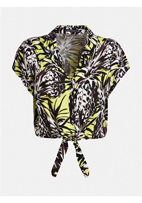 ss astrid shirt GUESS | Camicie | W0GH95 WBH30P26P