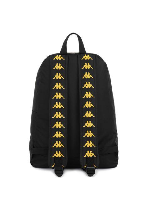 Zaino unisex poliestere Kappa   Borsa   304IBQ0928 BLACK-YELLOW GOLD