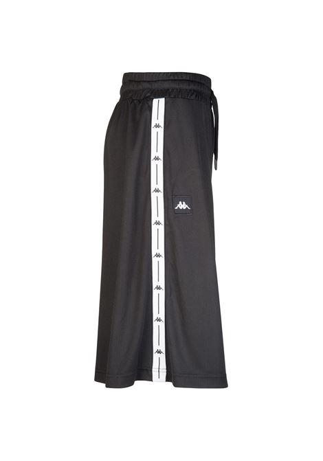 Pantalone da donna in tessuto operato Kappa | Pantalone | 304S1R0005 BLACK