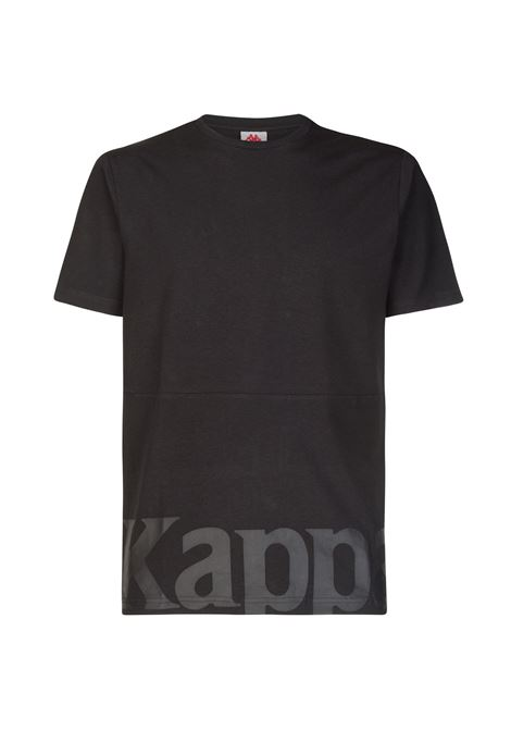 T-shirt da uomo in jersey Kappa | T-shirt | 304S430005 BLACK