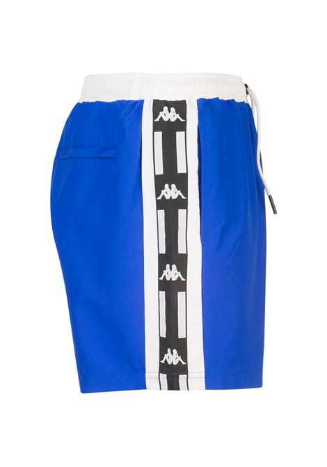 Costume a pantaloncino da uomo in nylon taslon Kappa | Costumi | 304SV70917 BLUE ROYAL-WHITE-BLK