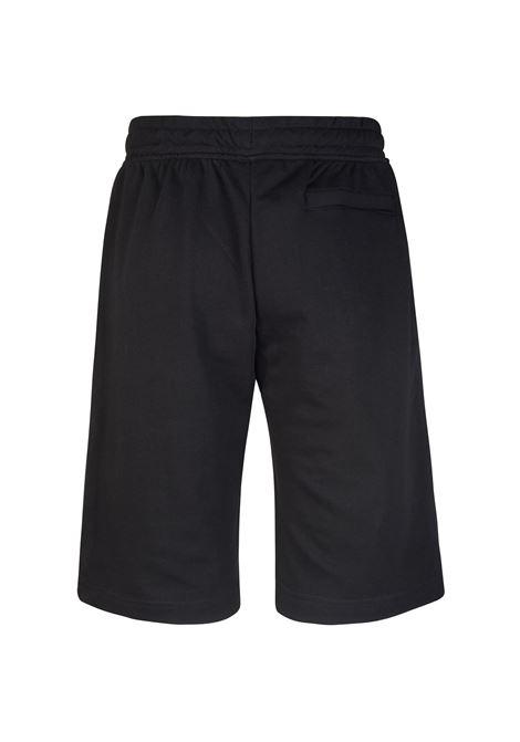 Pantaloncini sportivi da uomo in french terry Kappa | Pantalone | 304SZF0005 BLACK