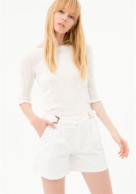 Shorts FRACOMINA | Pantalone | FR21SP1006W44001278 WHITE
