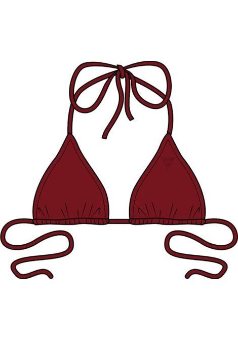 BIKINI LOGO TRIANGOLO GUESS ACTIWEAR | Bikini - pezzo sopra | E02J25 LY00KG573