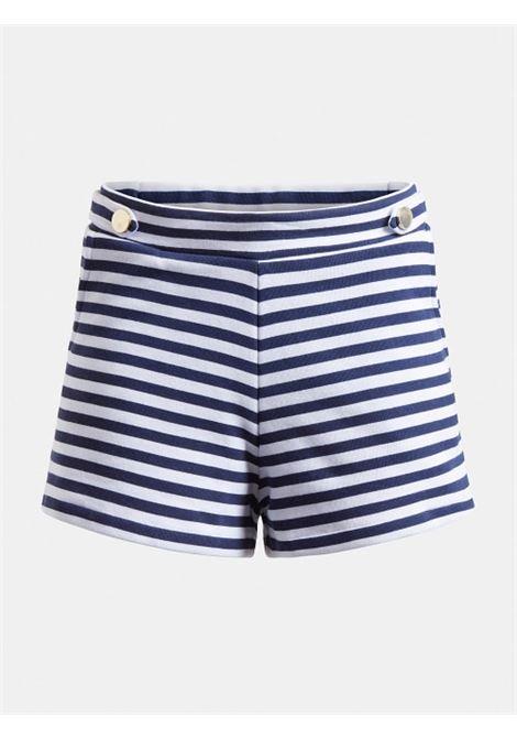 SHORTS STAMPA A RIGHE GUESS ACTIWEAR | Pantalone | E1GD01 K68I1S043