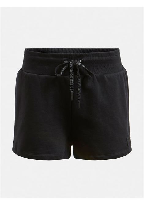 SHORTS LOGO TRIANGOLO GUESS ACTIWEAR | Pantalone | O1GA02 K68I1JBLK