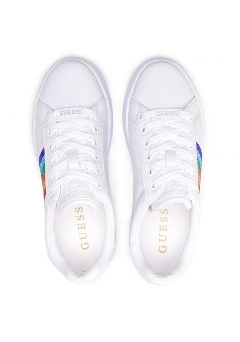 SNEAKER ROLLIN GUESS FOOTWEAR | Scarpe | FL5ROL ELE12WHITE