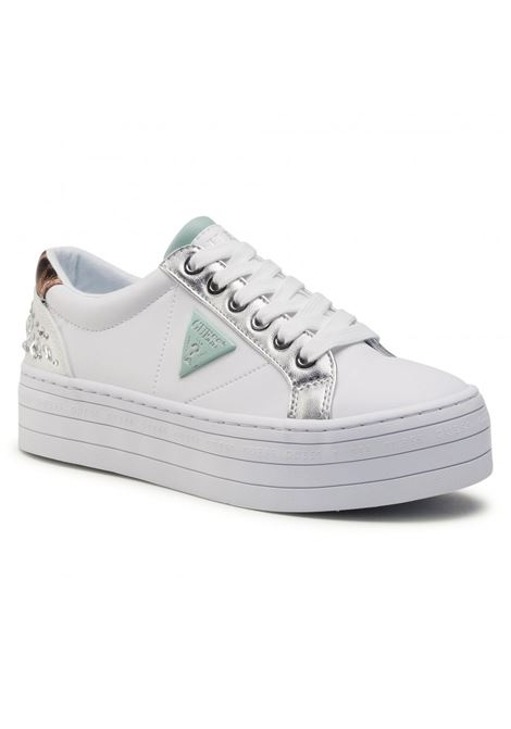 SNEAKER BRODEY GUESS FOOTWEAR | Scarpe | FL5YB3 ELE12WHISI