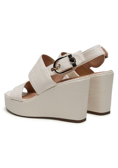 SANDALO NOLITA STAMPA COCCO GUESS FOOTWEAR | Scarpe | FL6NOL PEL04CREAM
