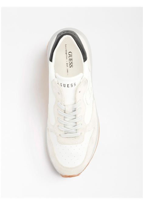 Sneakers Made GUESS FOOTWEAR | Scarpe | FM5RUN LEA12WHITE