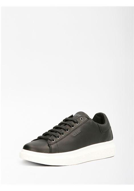 Sneaker Salerno GUESS FOOTWEAR | Scarpe | FM5SLR LEA12BLKBL