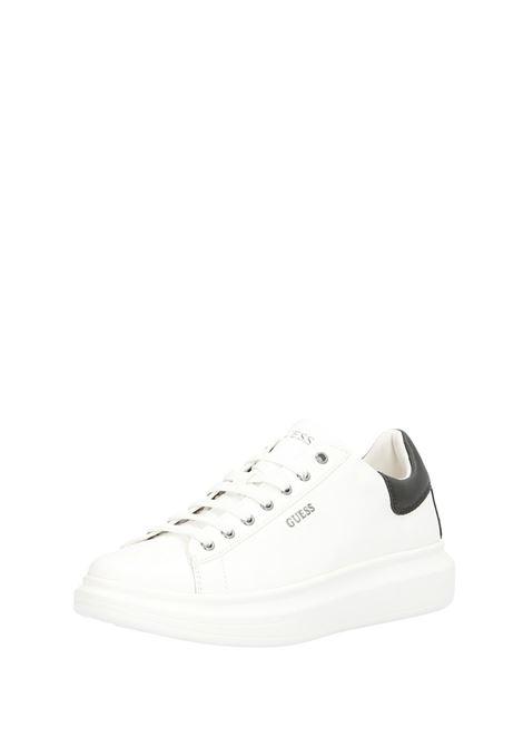 Sneaker Salerno GUESS FOOTWEAR | Scarpe | FM5SLR LEA12WHBLK