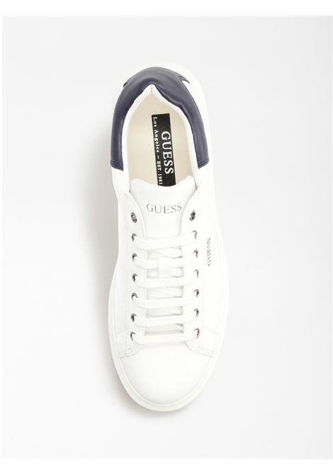 Sneaker Salerno GUESS FOOTWEAR | Scarpe | FM5SLR LEA12WHBLU
