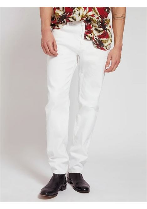 JEANS SLIM GUESS   Pantalone   M1GAN2 D4CK1TWHT