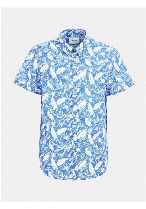 Camicia mezza manica GUESS | Camicie | M1GH21 WDR51PQW7