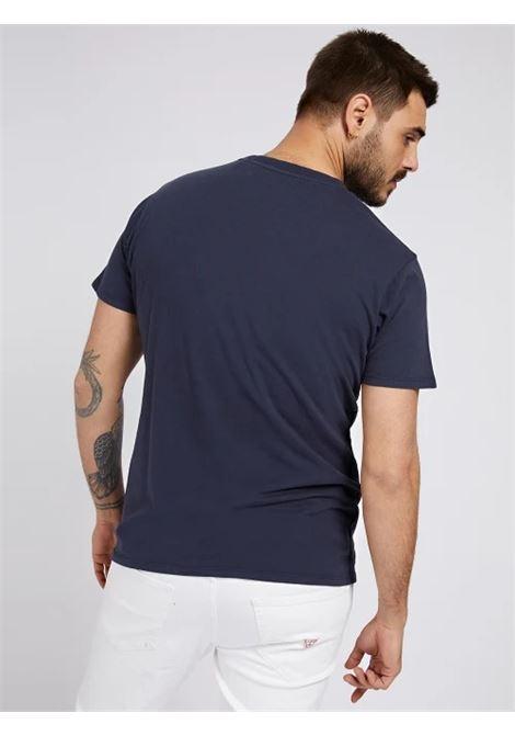 T-SHIRT TINTO IN CAPO LOGO GUESS | T-shirt | M1GI56 K8HM0G77G