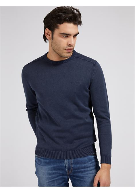MAGLIA TINTO IN CAPO GUESS | Maglie | M1GR54 Z2NN0G77G