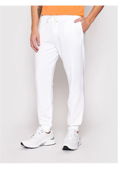 JOGGER IN TESSUTO FELPATO GUESS   Pantalone   M1RB37 K6ZS1TWHT