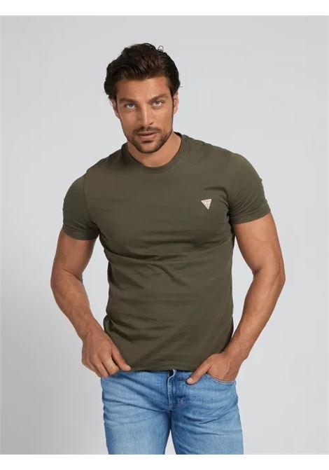 T-SHIRT TRIANGOLO LOGO GUESS | T-shirt | M1RI36 I3Z11G8F6