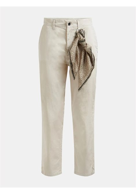 PANTALONE SLIM FOULARD GUESS | Pantalone | W1GB12 WCRU3G1Y0