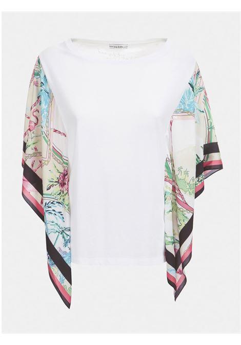T-SHIRT APPLICAZIONI GUESS | T-shirt | W1GI1C JA900TWHT