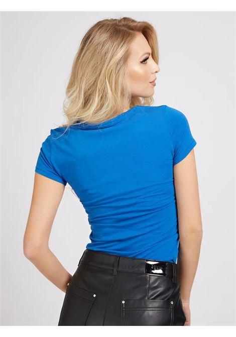 T-SHIRT LOGO FRONTALE GLITTER GUESS | T-shirt | W1GI36 J1300G7EI