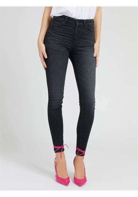 JEANS SKINNY PUSH UP GUESS | Jeans | W1RA28 D4AQ2WHA1