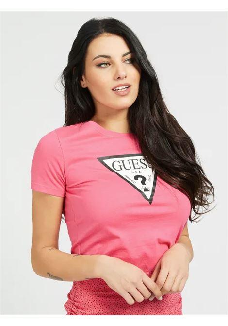 T-SHIRT LOGO TRIANGOLO GUESS | T-shirt | W1RI00 I3Z11G63Z