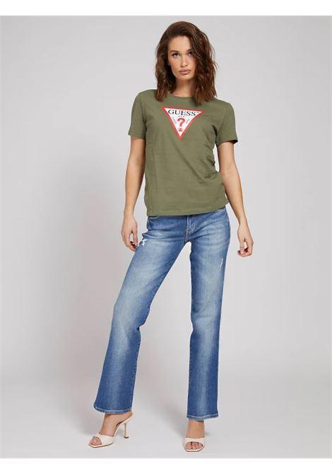 T-SHIRT LOGO TRIANGOLO GUESS | T-shirt | W1RI00 I3Z11G8U0