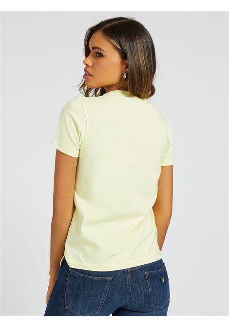 T-SHIRT LOGO ICON APPLICAZIONI GUESS | T-shirt | W1RI25 I3Z00G2M2