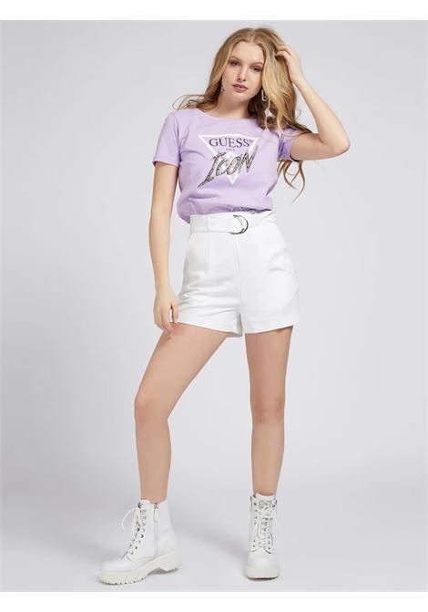 T-SHIRT LOGO ICON APPLICAZIONI GUESS | T-shirt | W1RI25 I3Z00G4G8